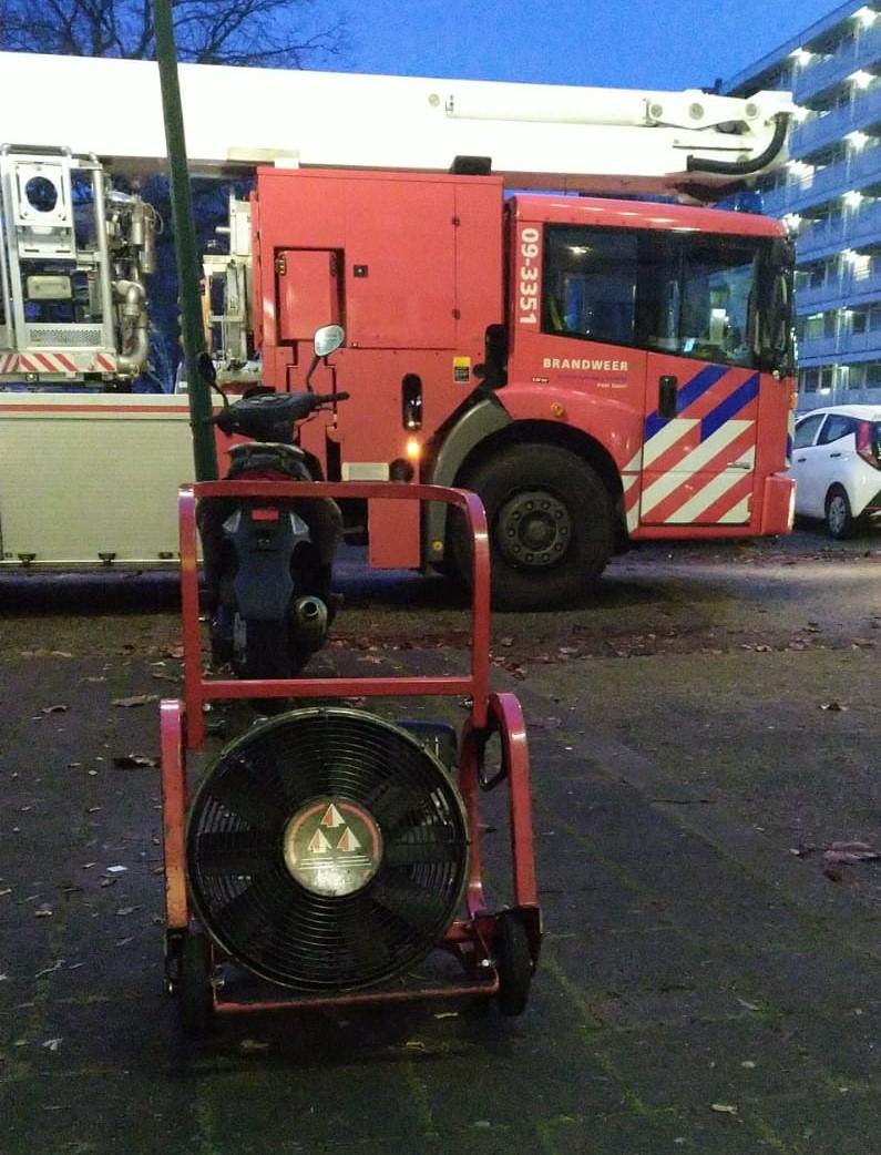 Lang onderzoek naar brandlucht door slijptol